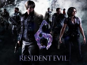 Poster de Resident evil 6