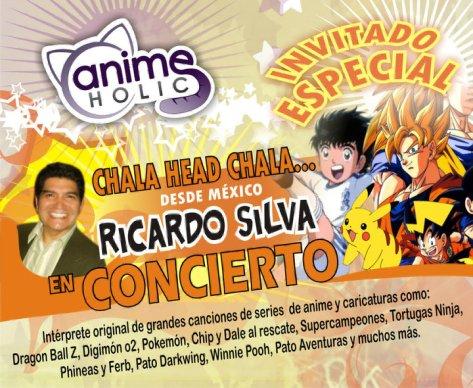 Publicidad de una convención donde se presentó Ricardo en Latinoamérica